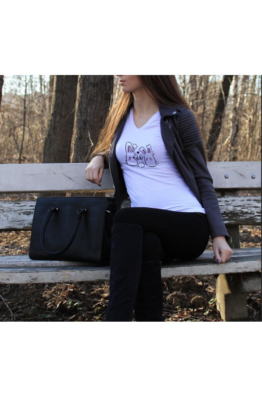 Bunny T-Shirt (Hölgyeknek - HÁROM fajta mintával!)
