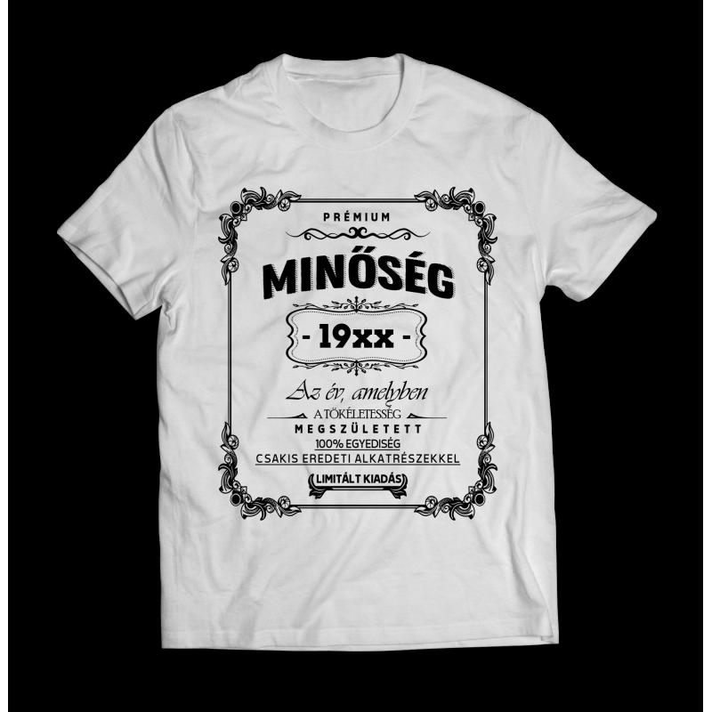de331d9780 Születésnapi póló, születésnapra egyedi ajándék