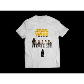 Star Wars - 8 bit póló