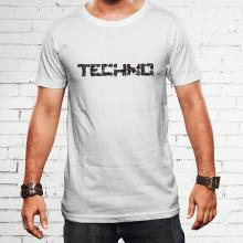 A Techno zene szerelmeseinek póló