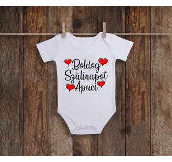 Boldog szülinapot apuci baba body