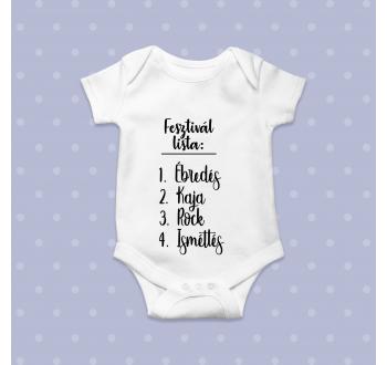 Fesztivál lista baba body