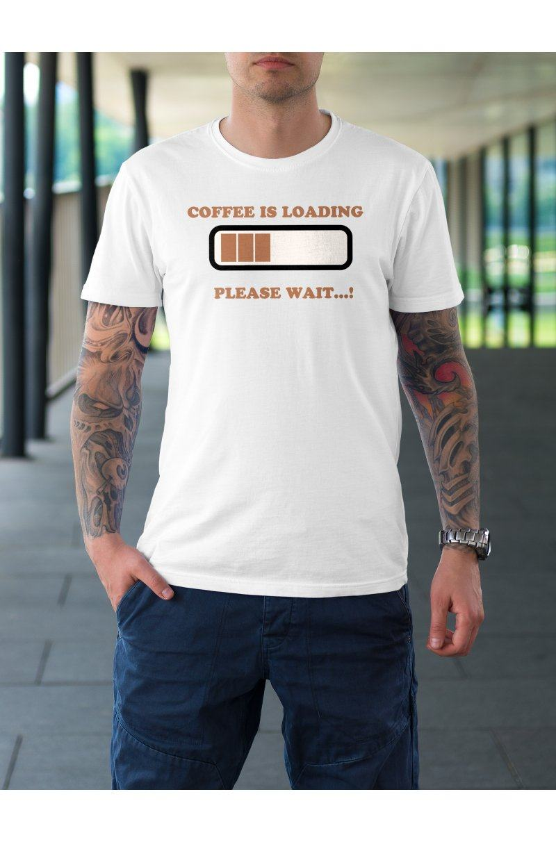 Coffee is loading póló