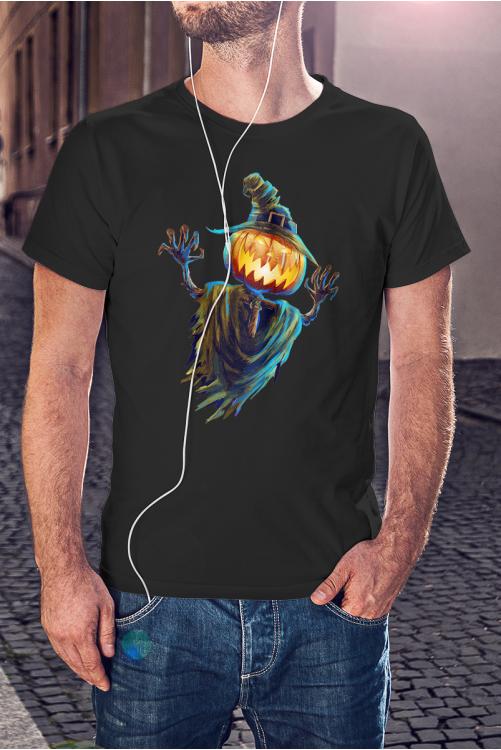Madárijesztő halloween póló