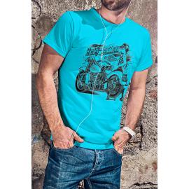 Harley Davidson egyedi motoros póló