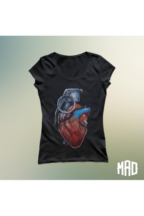 Heart Bomb póló