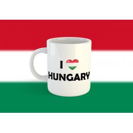 Szeretem Magyarországot bögre