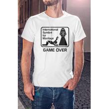 Nemzetközi Game Over legénybúcsú póló