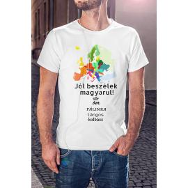 Jól beszélek magyarul póló