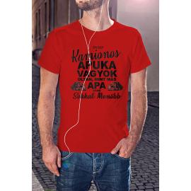 Menő Kamionos Apuka póló