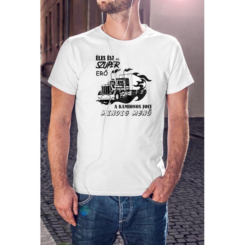 Kamion mester póló