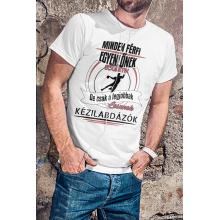 Minden férfi egyenlőnek születik, de csak a legjobbak lesznek kezilabdasok póló