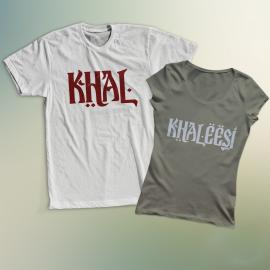 Khal és Khaleesi póló
