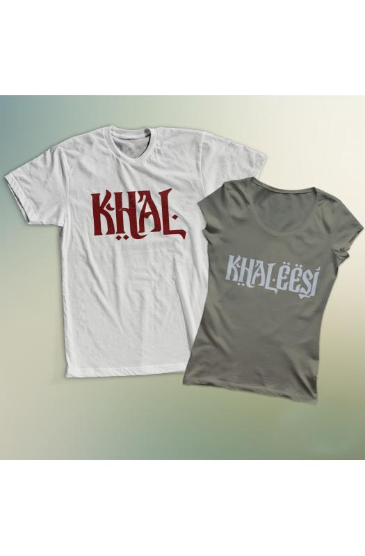 Khal és Khaleesi páros póló