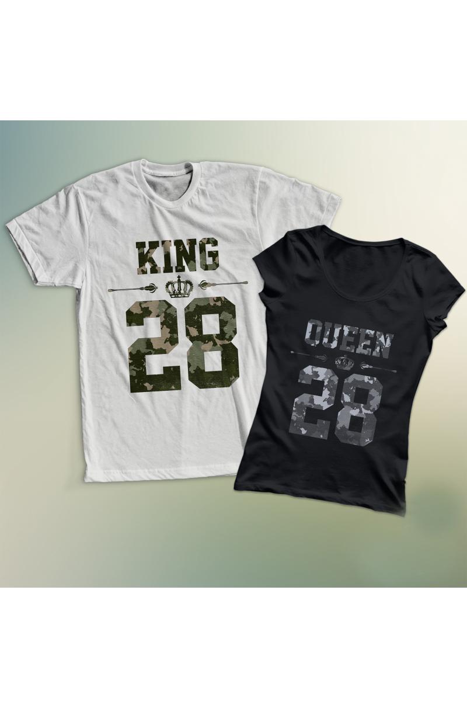 King & Queen póló