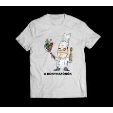 A Konyhafőnök - Gasztro póló, szakácsoknak! - Egyedi név kérhető!