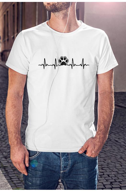 Kutyás EKG póló