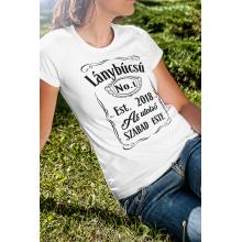 Lánybúcsú Jack Daniels póló