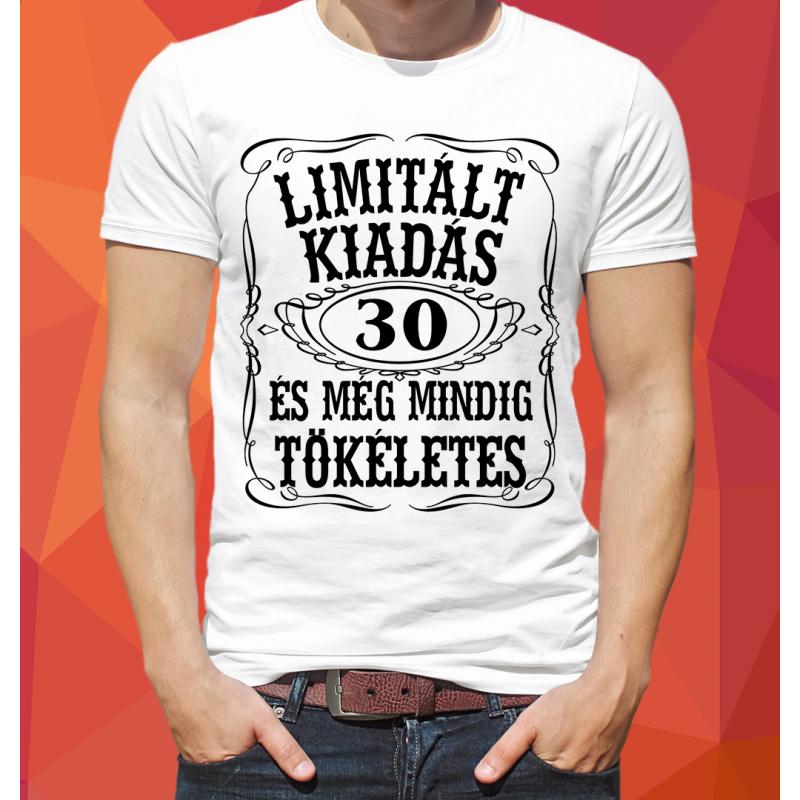 Limitált kiadás póló