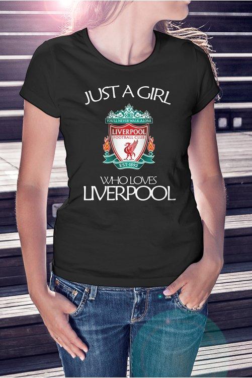 Liverpool girl póló