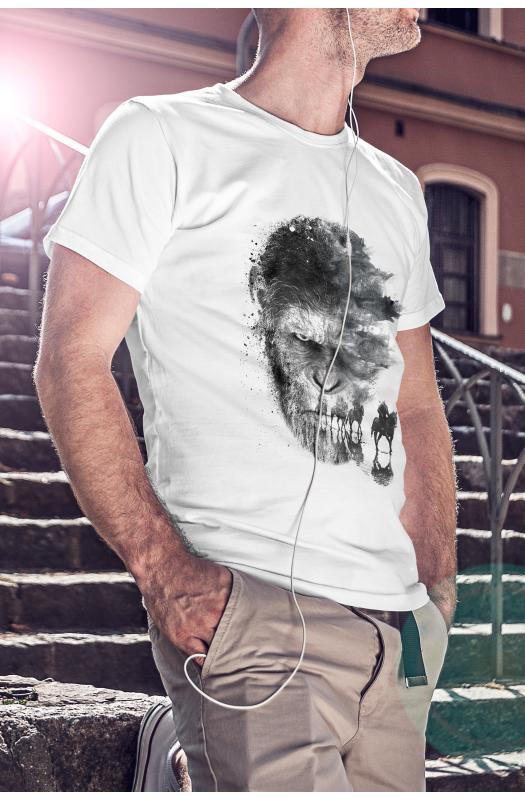 Majmok bolygója póló