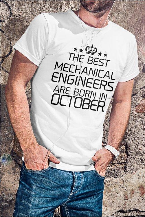 Mérnök póló - egyedi hónappal kérhető