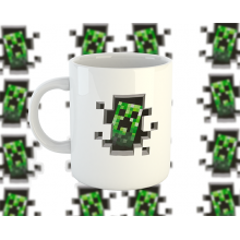 Minecraft Creeper bögre