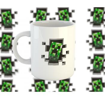 Minecraft Creeper bögre