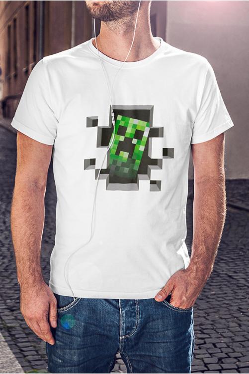 Minecraft Creeper póló