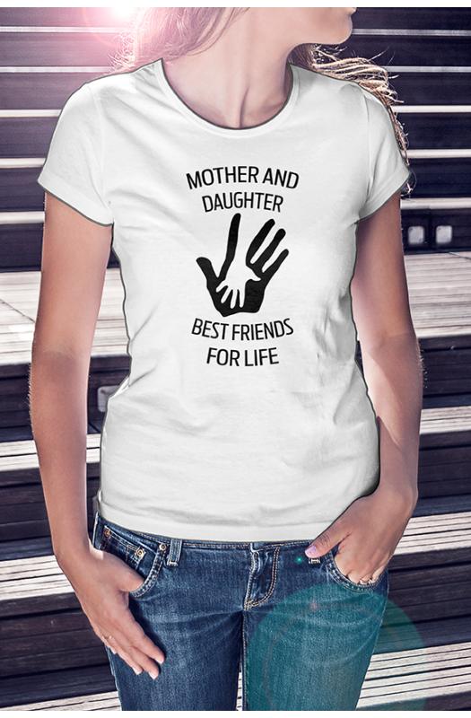 Anya, lánya legjobb barátok póló