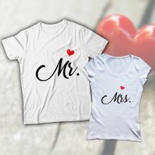 Mr. és Mrs. páros póló