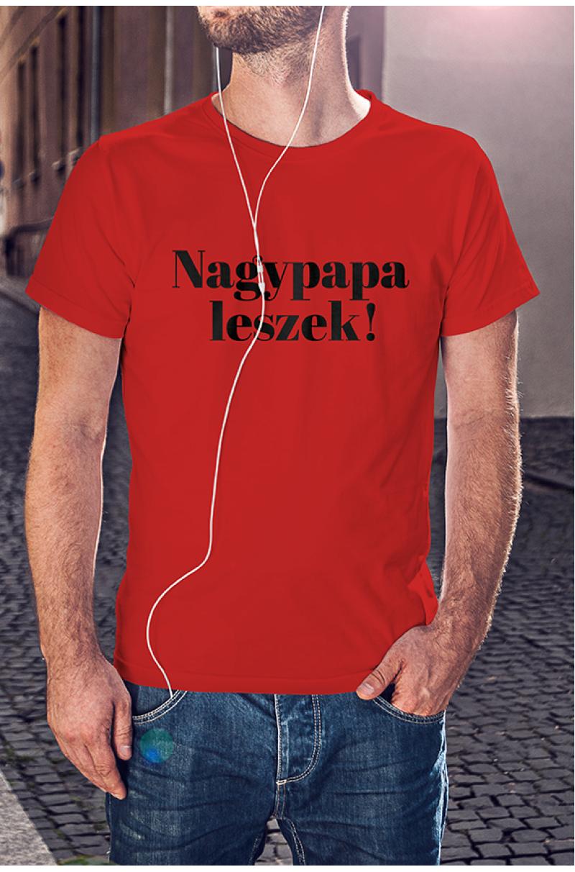 Nagypapa leszek póló