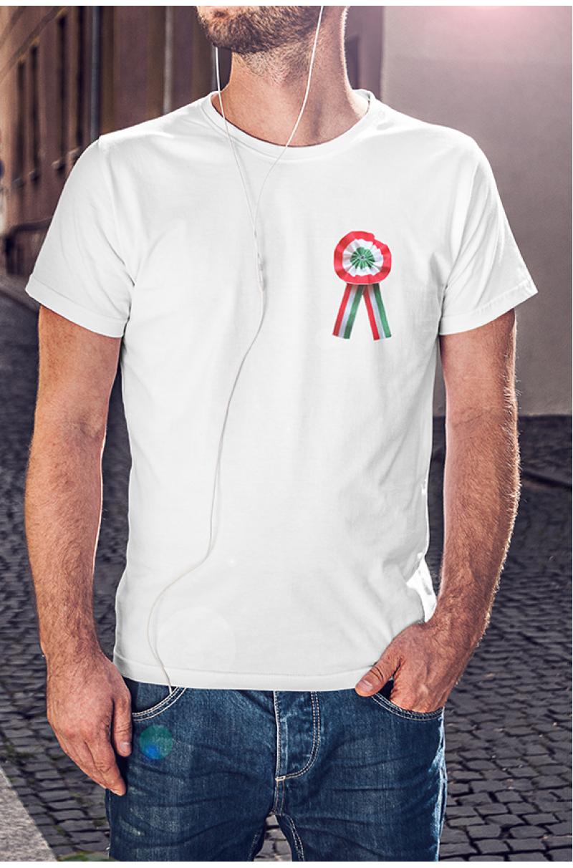 Nemzeti Kokárdás Póló