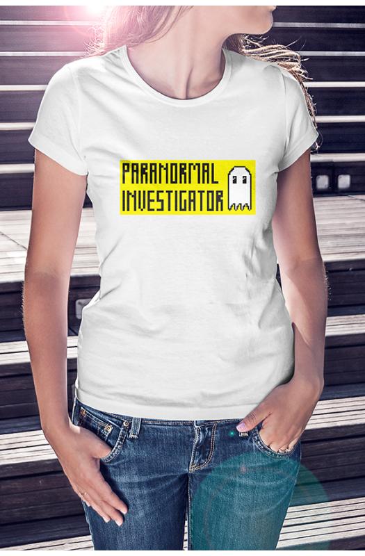 Paranormal Investigator Póló