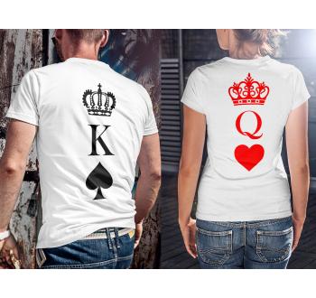 Páros Király és Dáma póló