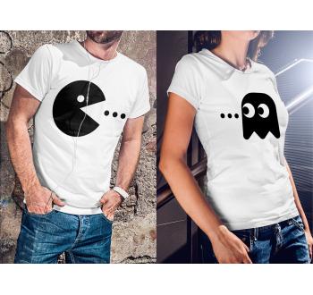 Pac-man páros póló