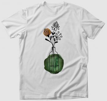 Vadvirágos póló
