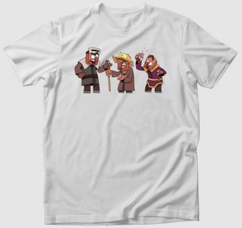 Minecraft falusiak póló