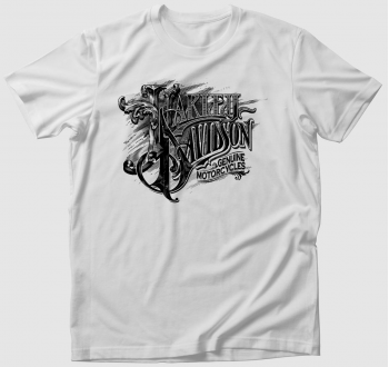 Harley Davidson Genuine Motorcycles póló