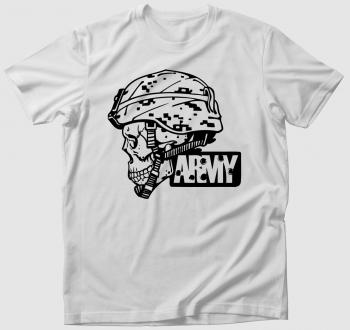 Army koponya póló