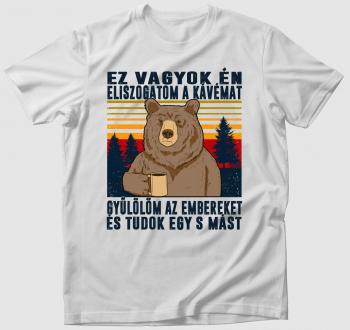 Kiégett medve póló