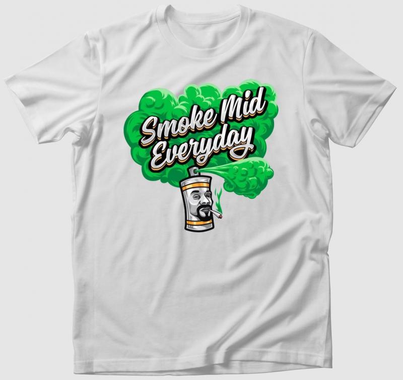 Smoke Mid Everyday póló