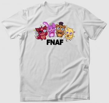 FNAF karakterek csibi art póló