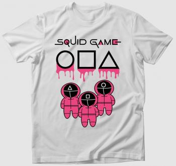 Squid Game chibi art póló