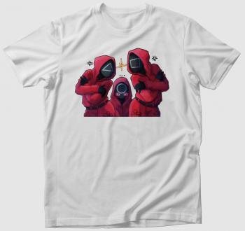 Squid Game őrök póló