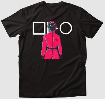 Squid Game őr art póló