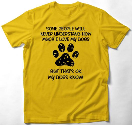 Szeretem a kutyámat póló