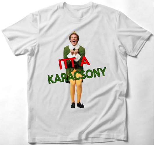 Itt a karácsony! póló