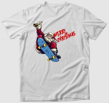 Skater Mikulás póló