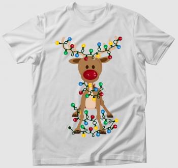Karácsonyi Rénszarvas póló